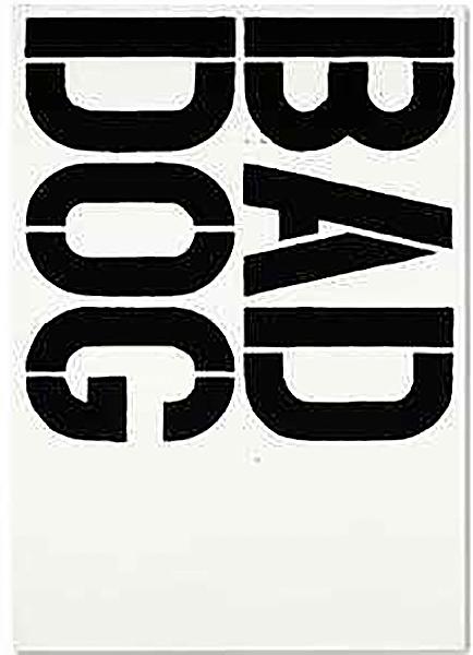 Christopher Wool-Bad Dog-1992