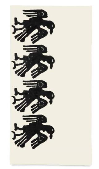 Christopher Wool-Eagles-1990