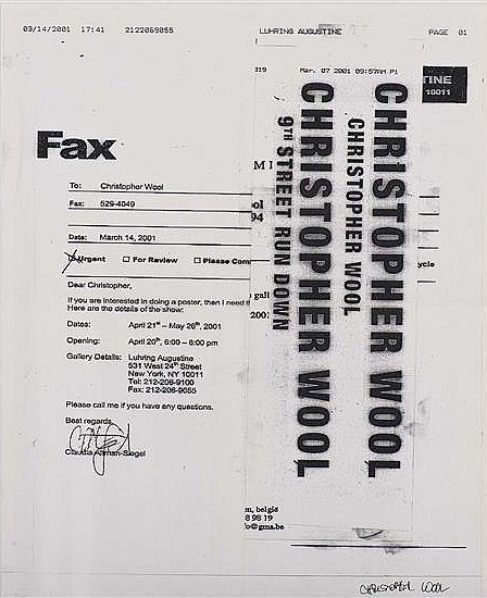 Christopher Wool-Fax-2001