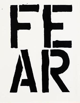 Christopher Wool-Fear-1989
