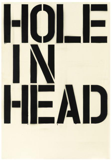 Christopher Wool-Head-1992