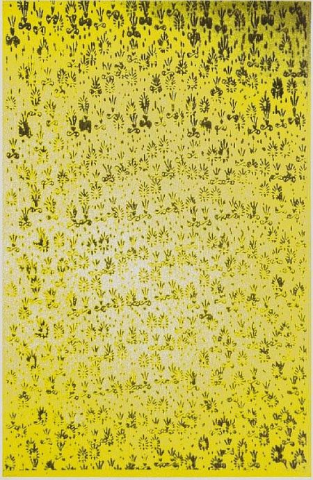 Christopher Wool-Untitled (Yellow)-1991