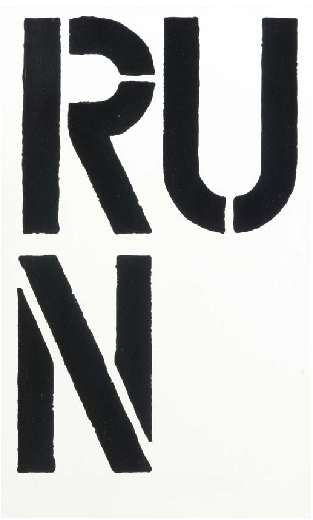 Christopher Wool-Run-1990