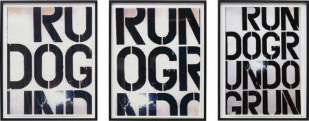 Christopher Wool-Run Dog Run-1991