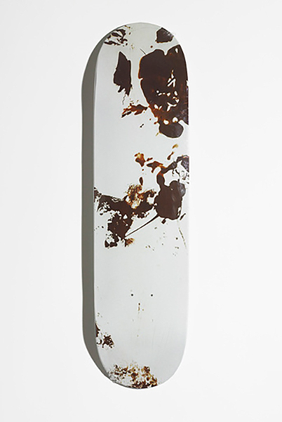 Christopher Wool-Skatedeck (Brown)-2008