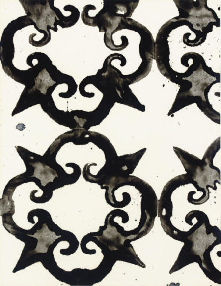 Christopher Wool-Study of a Railing in the Vatican-1988