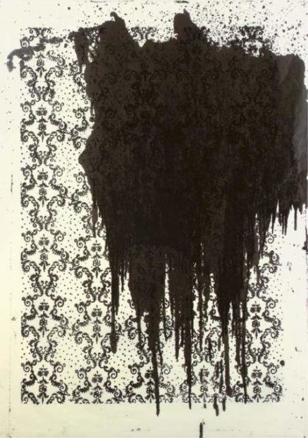 Christopher Wool-Untitled (Black Stain)-2000