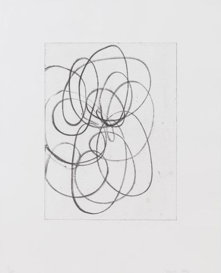 Christopher Wool-Untitled (from Triptych)-1998