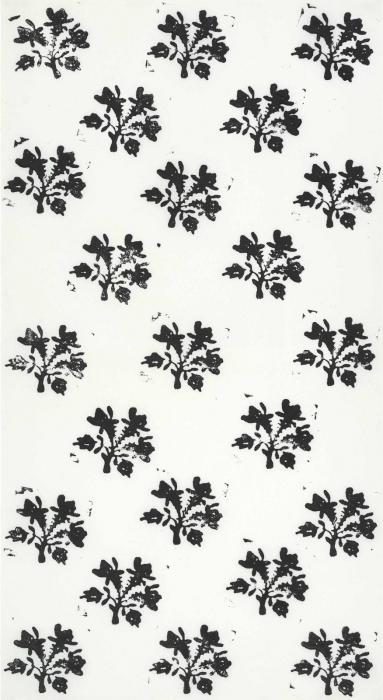 Christopher Wool-Untitled (Flowers Grid)-1988