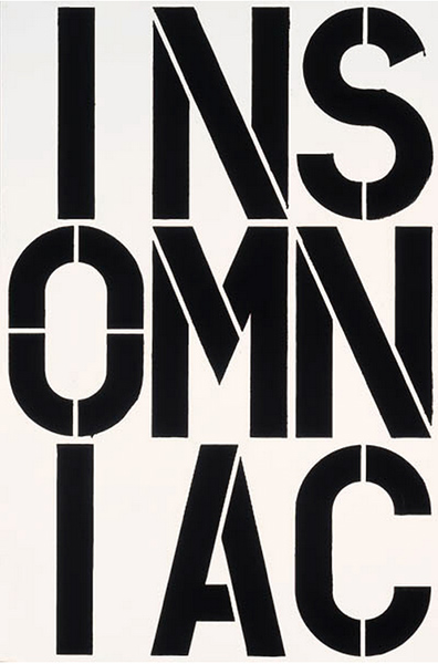 Christopher Wool-Untitled (P103)-1989