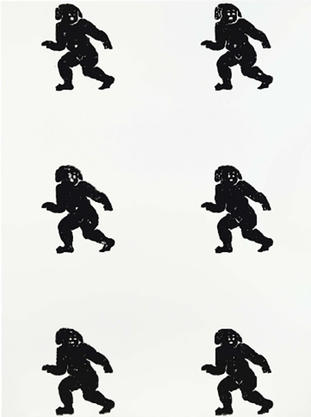 Christopher Wool-Untitled (P112)-1989