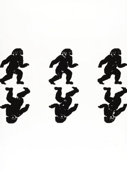Christopher Wool-Untitled (P118)-1990