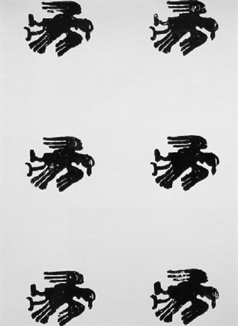 Christopher Wool-Untitled P128-1990