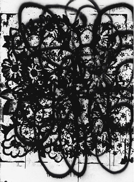 Christopher Wool-Untitled (P98)-1989