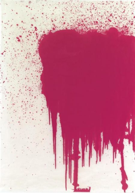 Christopher Wool-Untitled (Pink Stain)-2000