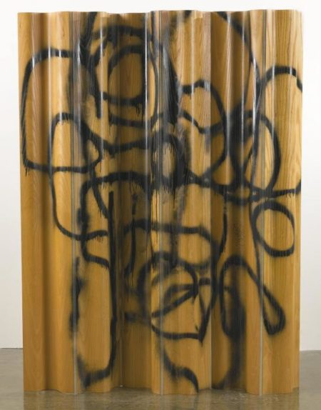Christopher Wool-Untitled (Plywood)-2002