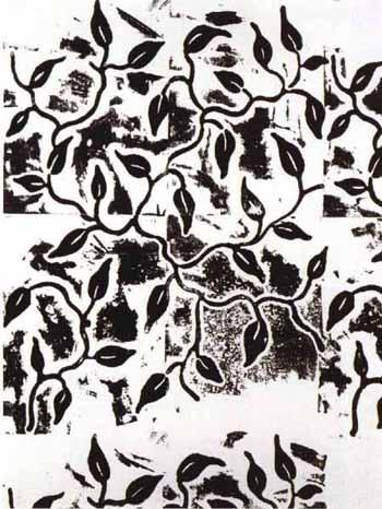 Christopher Wool-Untitled (Vine Small 2)-1991