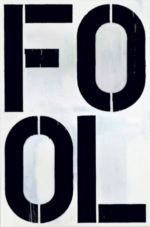 Christopher Wool-Untitled (W11)-1990
