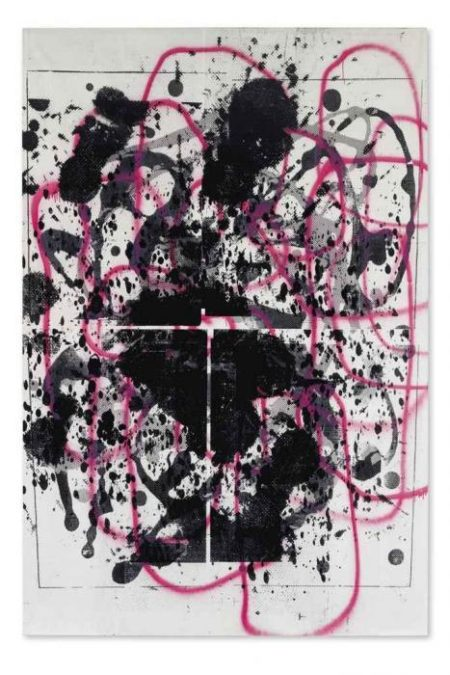 Christopher Wool-Untitled (Wool 2000 On Stretcher)-2000