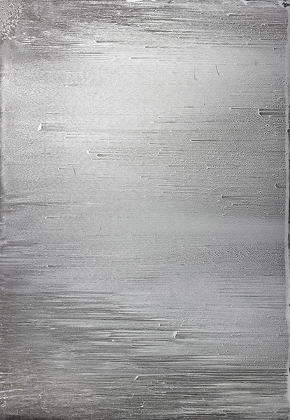 Christopher Wool-Untitled (Wool 85 on the Reverse,Sand)-1985