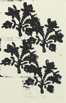 Christopher Wool-Untitled (Floral)-1991