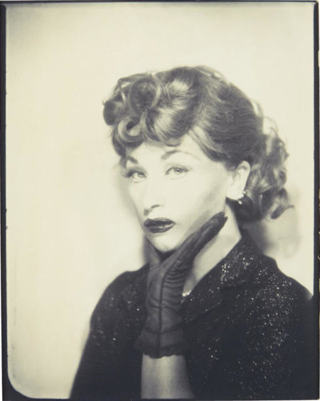 Untitled (Lucille Ball)-1975