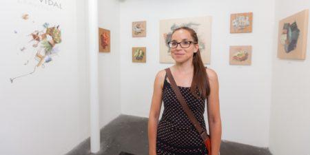 Cinta Vidal - Photo of the artist - Image via sourharvest new like new