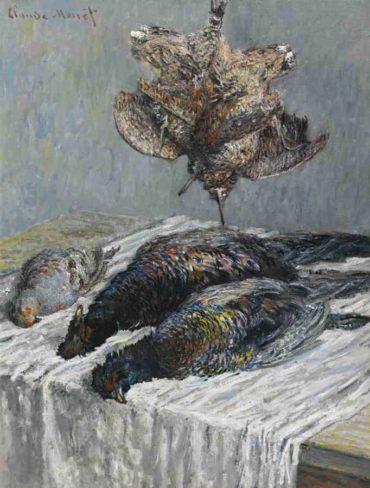 Claude Monet-Faisans, Becasses Et Perdrix-1879