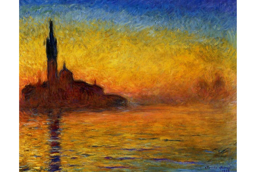 Claude Monet Paintings From When He Was Color Blind