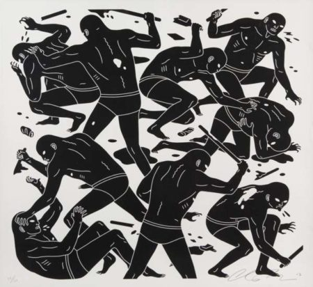 Cleon Peterson-Hysteria-2013