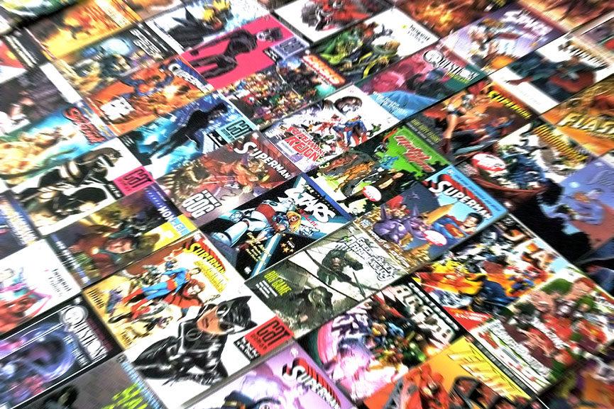 Comic Book Art Collecting