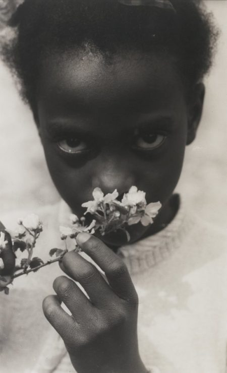 Consuelo Kanaga-Black Child And Apple Blossom Tennessee-1948