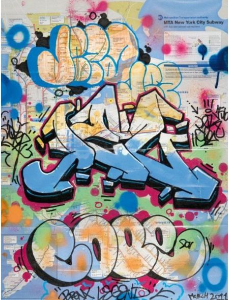 Cope2-NYC SUBWAY MAP-2011