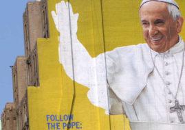 pope mural new york