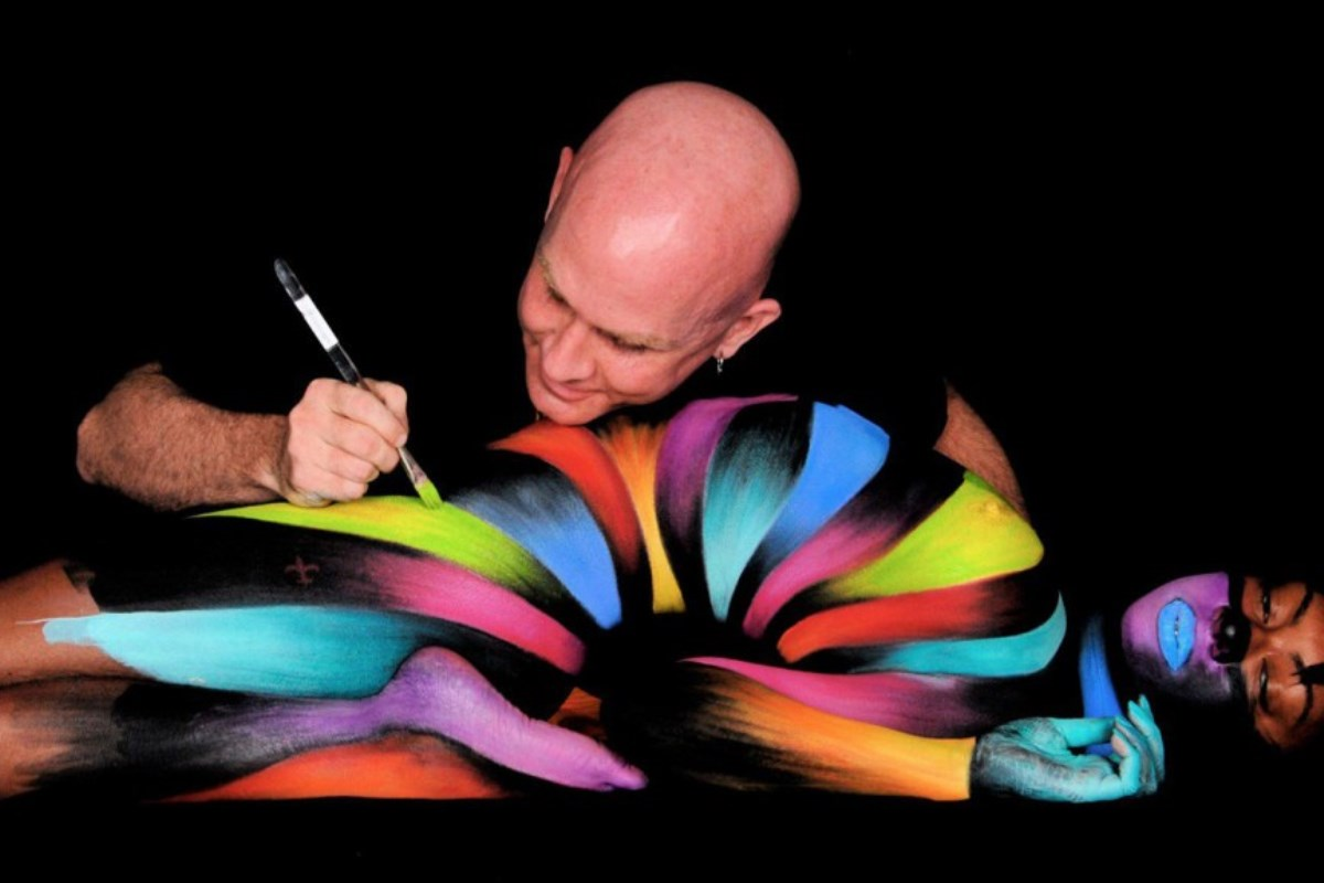 Body paint art masterpieces widewalls