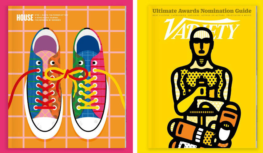 Craig&Karl - Soho House (Left) - Vanity Fair (Right), Images copyright of Craig&Karl it's 2014 maier contact fashion photo