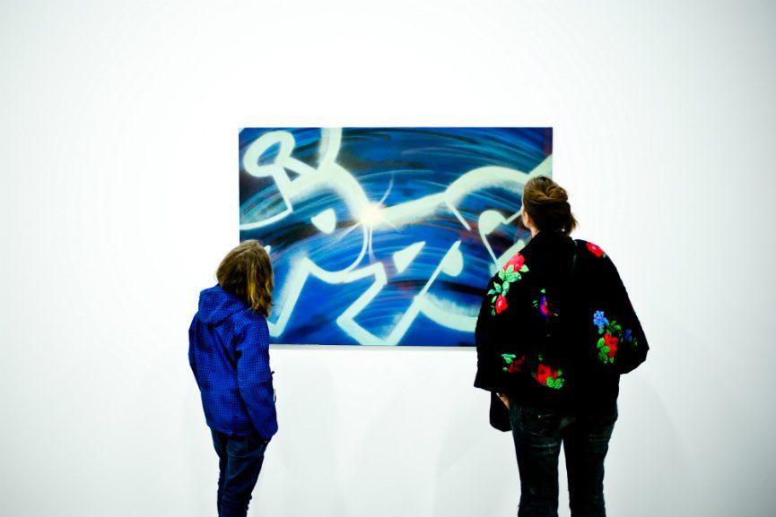 Street Generations by Crash presented in Paris street art show
