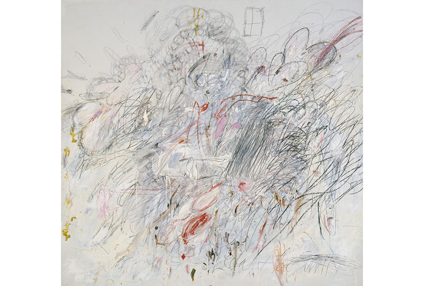 Cy Twombly - Leda and the Swan, 1962