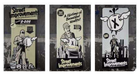 DFACE-Street improvements (triptych)-2006