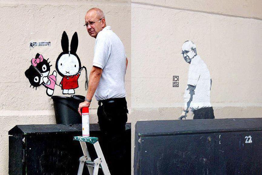 DS' Stencil Interventions