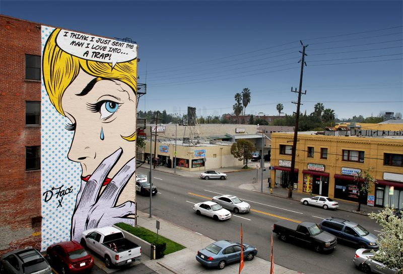 DFace - Love Trap - 5427 Santa Monica Blvd, Los Angeles