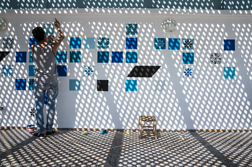 Marrakech Biennale 6th edition eem fadda curatorial concept palais bahia arts marrakech vanessa branson africa arab omar berrada participating artists arab world parallel projects marrakech morocco khalil rabah curated reem