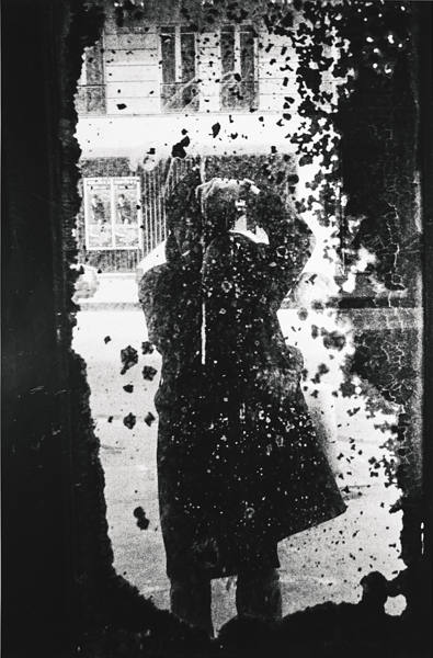 Daido Moriyama-Paris (Self-Portrait)-1989