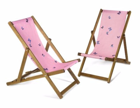 Damien Hirst-A Pair of Deck Chairs-2007