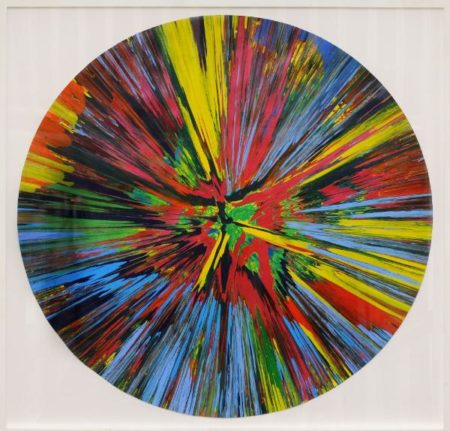 Damien Hirst-A Spin Painting, Beautiful how Does Your Garden Grow Painting-2008