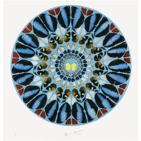 Damien Hirst-Ad Te, Domine, Levavi (from Psalm Prints)-2010