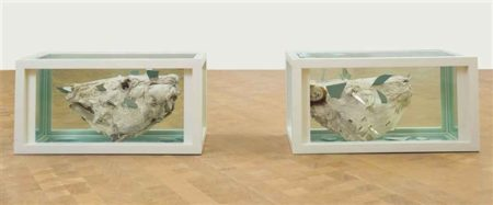 Damien Hirst-Adam and Eve (Breaking Open the Head)-2003