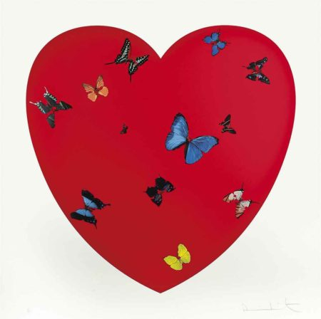 Damien Hirst-All You Need is Love, Love, Love-2008