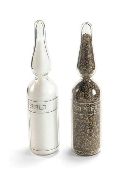 Ampoule Salt and Peeper Shakers-1998