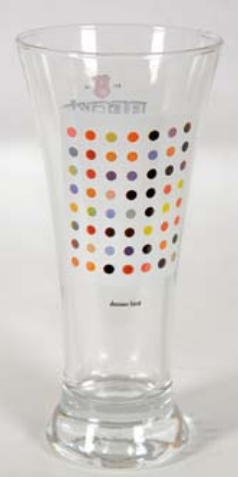 Damien Hirst-Beck's Exclusive Limited Glass-